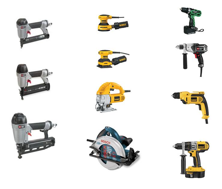 power hand tools. hand tools (2) power e